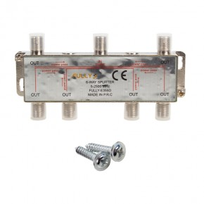 1/6 SPLITTER 5-2500 MHZ FULLY G-335D