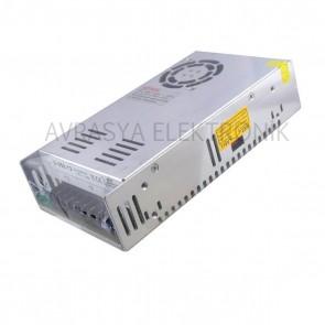 12 Volt 30 Amper Adaptör Metal Kasa