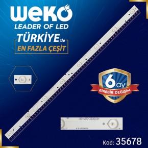 180-W00-320010H - IC-B-CNT32D332 - 8 LEDLİ 61.2 CM - (WK-1157)