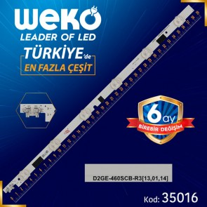 2013SVS46F R9/R6 REV1.9 - D2GE-460SCB-R3 - 46E25309A - RIGHT - 39.2 CM 6 LEDLİ (WK-803)