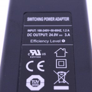 24 Volt 3 Amper Switching Power Adaptör