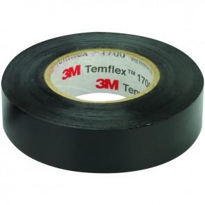 3M TEMFLEX 1300E PVC İZOLE BANT SİYAH 10LUK PAKET 0.13MM X 19MM X 0.13MM