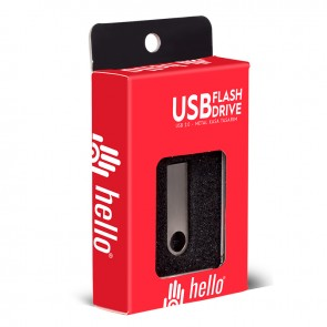4 GB METAL USB FLASH BELLEK METAL KUTULU