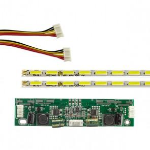 43 UNİVERSAL E-LED 51 LEDLİ (7020) 476MM 360-450MA 51-54V ÇİFT LED+SÜRÜCÜ+KABLO TAKIM (WK-1370)