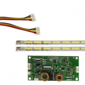 65 UNİVERSAL E-LED 90 LEDLİ (7020) 722MM 360-450MA 90-93V ÇİFT LED+SÜRÜCÜ+KABLO TAKIM (WK-1374)