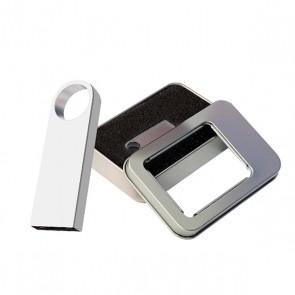8 GB METAL USB FLASH BELLEK METAL KUTULU ( PROMOSYON ÜRÜN )