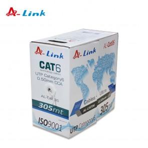 A-Link Al-Cat06 305M Cat6 0.50Mm Cca Kablo 1512021