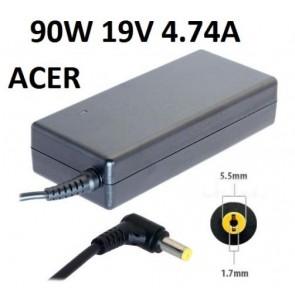 Acer 19v 4.74a Notebook Adaptör 5.5x1.7mm
