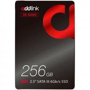 ADDLINK AD256GBS20S3S 256 GB 2.5 3D NAND 510/400 MBS SATA 3.0 SSD HARDDİSK