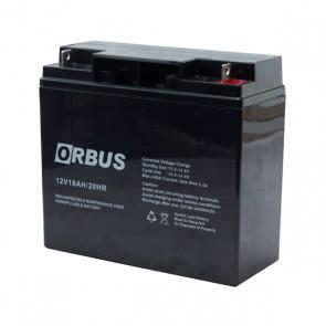 AKÜ 12 VOLT 18 AMPER POWERMASTER * ORBUS * ATEX ( 181 X 76 X 167 MM )