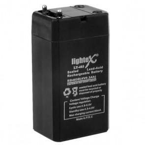 AKÜ 4.2 VOLT 0.3 AMPER LIGHTEX LT-403
