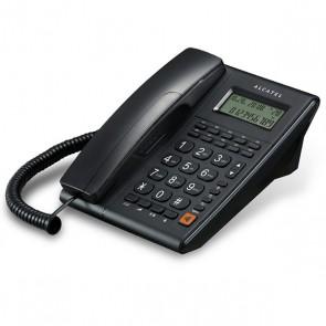 ALCATEL T-37 MASAÜSTÜ KABLOLU EKRANLI TELEFON  (SİYAH)