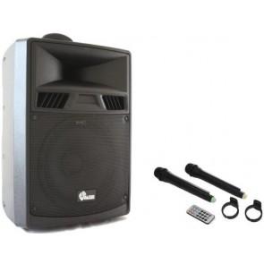 Alfon Afts-3410Cb 10'' 25Cm 70W Aktif Şarjlı Speaker (Tekerli Ve Çekli