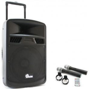 Alfon Afts-3412Cb 12'' 30Cm 100W Aktif Şarjlı Speaker (Tekerli Ve Çekl