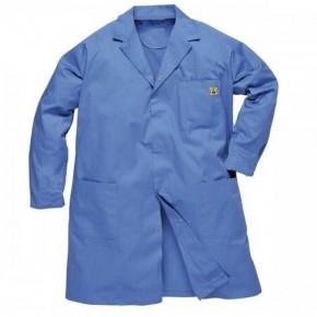 Antistatik (ESD) Önlük - Mavi ( L Beden)