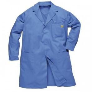 Antistatik (ESD) Önlük - Mavi (M Beden)