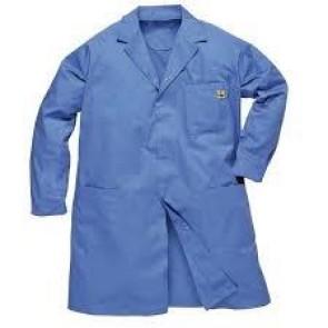Antistatik (ESD) Önlük - Mavi (XL Beden)