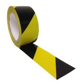 Antistatik Sarı-Siyah Zemin Uyarı Bandı FMT-4800