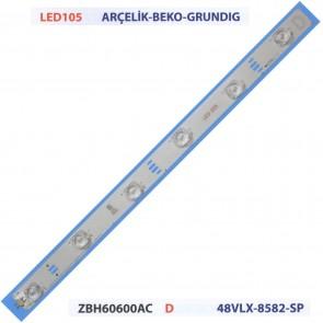 ARÇELİK BEKO GRUNDIG ZBH60600AC D 48VLX-8582-SP Tv Led Bar