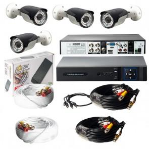 ARMİ CCTV GÜVENLİK KAMERASI DÖRTLÜ HAZIR KAMERA SETİ 100314