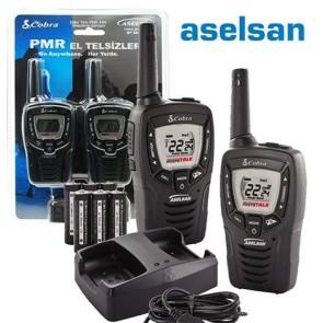Aselsan MT-690 Vpt El Telsizi Pil Şarj Dahil İkili Set