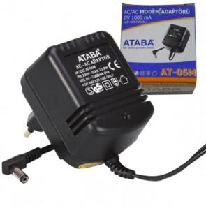 ATABA AT-06M 6V 1000MA AC-DC ADAPTÖR