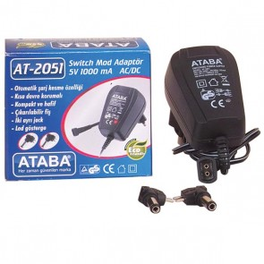 ATABA AT-2051 5V 1000 MAH ADAPTÖR