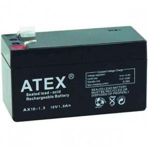 Atex AX-1213 12V-1.3A Akü