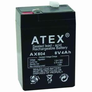 Atex AX-604 6V-4A Akü