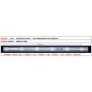 AXEN AX049DLD12AT075 YAL13-00630300-01/YS-L E469119 Tv Led Bar