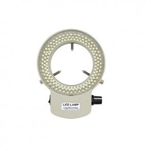 Beyaz 6500K 144 LED Stereo Mikroskop İçin Halka Işık Lambası