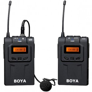 BOYA BY-WM6 UHF PROFESYONEL WİRELESS MİKROFON