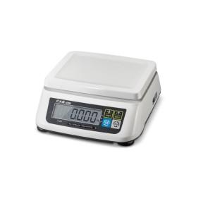 CAS SW II Dijital Hassas Terazi - Hassasiyet: 1/2 gr. Max: 6 kg.