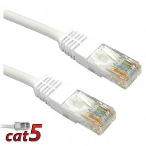 Cat5E Ethernet Kablo 0.5M Gri