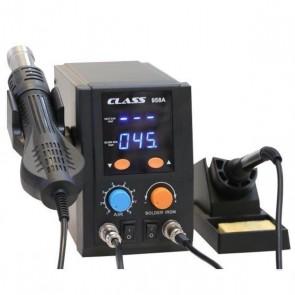Class 958A Sıcak Hava Üflemeli Havya İstasyonu - Dijital
