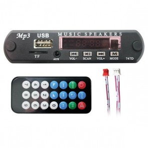Class USB-122 12V MP3 USB devresi Bluetooth' lu