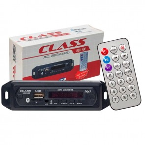 CLASS USB-402 BLUETOOTH/AUX USB/SD/MMC MIKROFONLU KUMANDALI OTO TEYP ÇEVİRİCİ DİJİTAL PLAYER