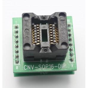CNV-SOP16-DIP Entegre Soket Adaptörü