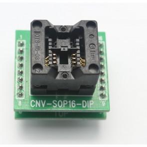 CNV-SOP8/16-DIP Entegre Soket Adaptörü
