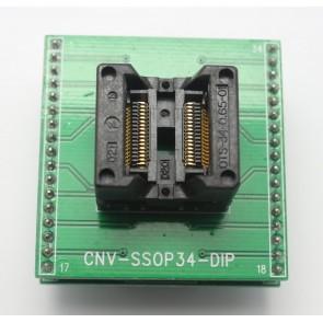 CNV-SSOP-34-DIP Entegre Soket Adaptörü