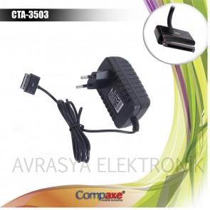 Compaxe Cta-3503 15v 1.2a 40P Samsung Tabet Şarj Adaptörü