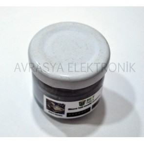 CPU LED PCB Isı Transfer Silikonu - Termal Macun 50Cc Cam Kavanoz Gri