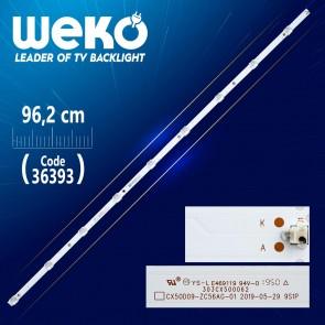 CX50D09-ZC56AG-019S1P  303CX500062 9 LEDLİ 96.2 CM 6V