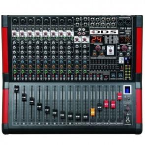 DDS D-12 P 3000 FX 12 KANAL 2X1500 USB/SD/BLUETOOTH POWER MİXER