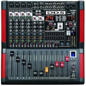 DDS D-8 P 2000 FX 8 KANAL 2X1000 USB/SD/BLUETOOTH POWER MİXER