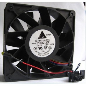 Delta PFC1212DE 12V 4.80A HP Server Fan 120x120x38 mm