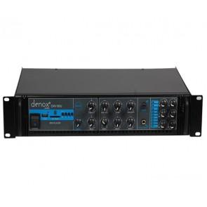 DENOX DXV-60U 60W 100V/70/4-16 OHM USB/SD 6 BÖGELİ 3 MİK.GİRİŞLİ TRAFOLU ANFİ