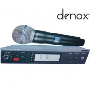 DENOX VXR-1000H UHF 1 EL KABLOSUZ MİKROFON