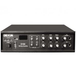 DEXUN D-100 60W 100V USB-5 -ZON HAT-TRAFOLU ANFİ