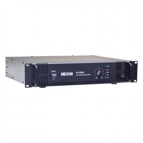 DEXUN D-1200 70V-100V 200 WATT HAT TRAFOLU POWER ANFİ
